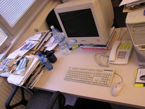 solo podemos trabajar en la oficina