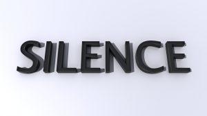 el silencio hace vender mas